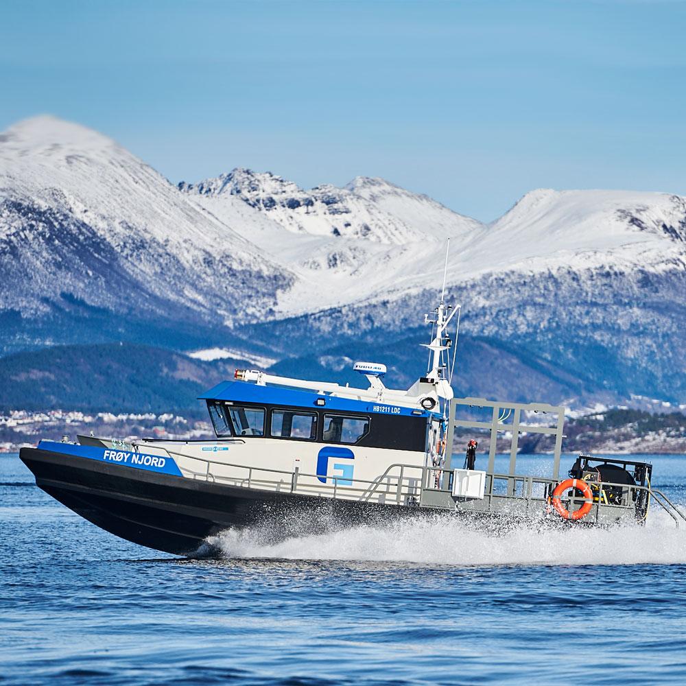 Frøy Njord båt