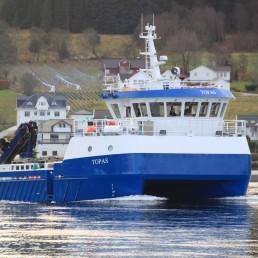 Topas båt