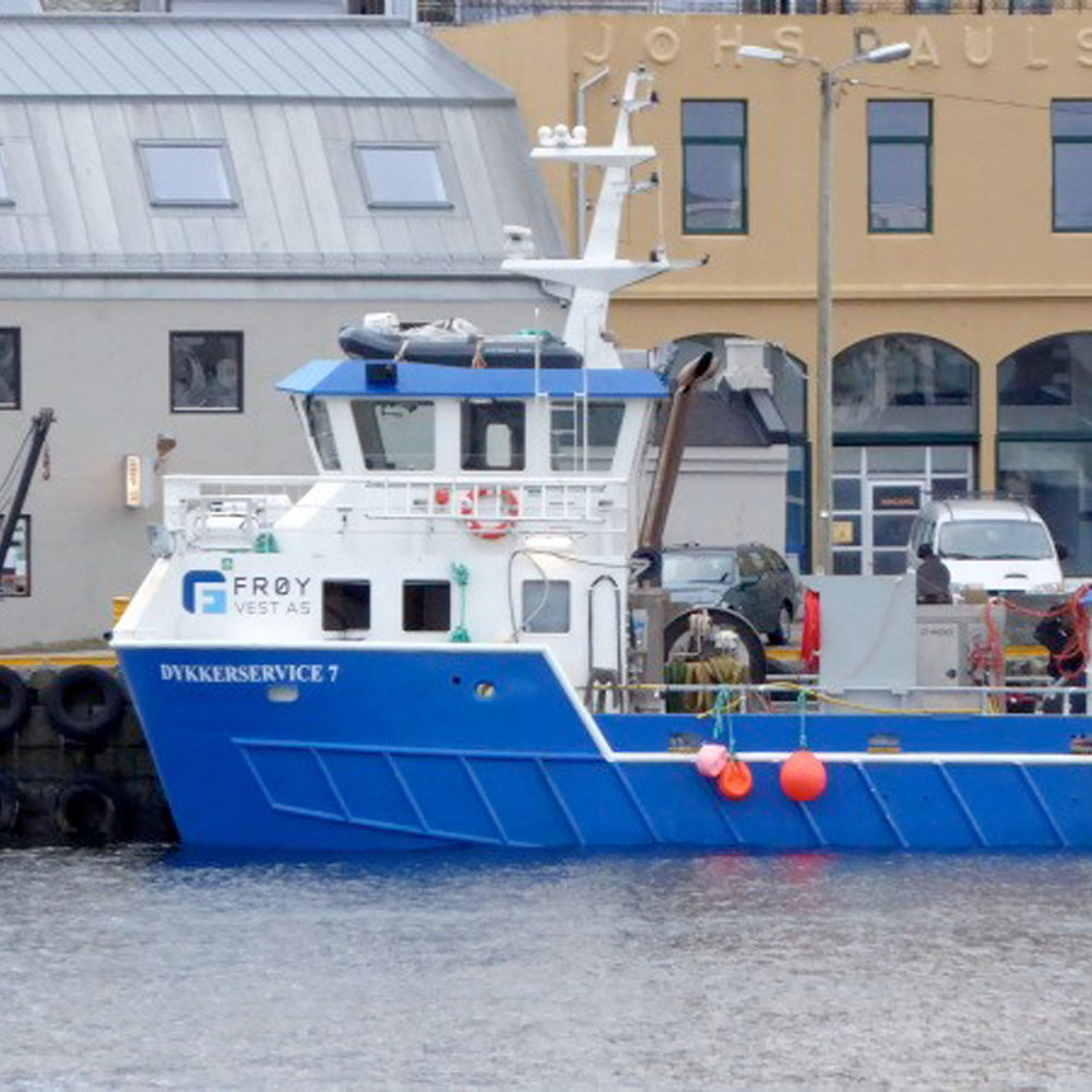 DS7 båt frøy