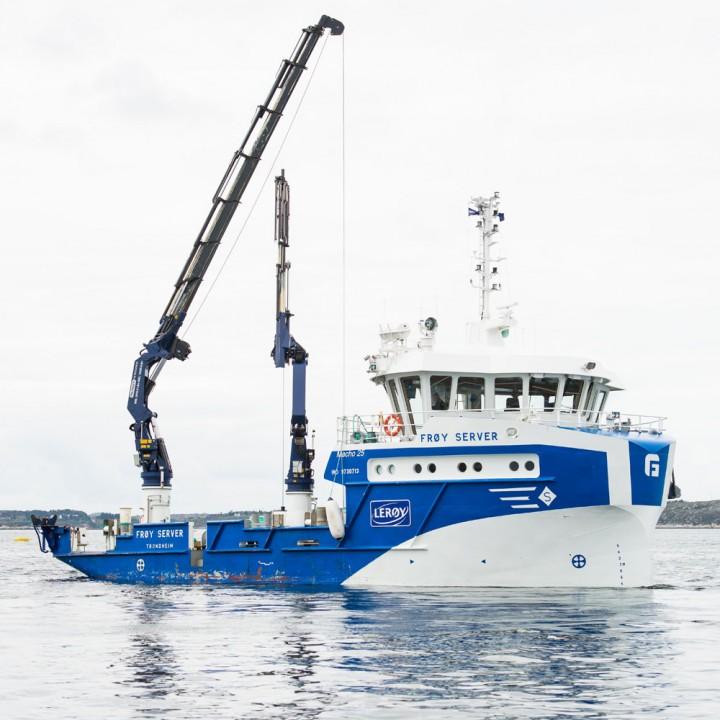 Frøy Server båt