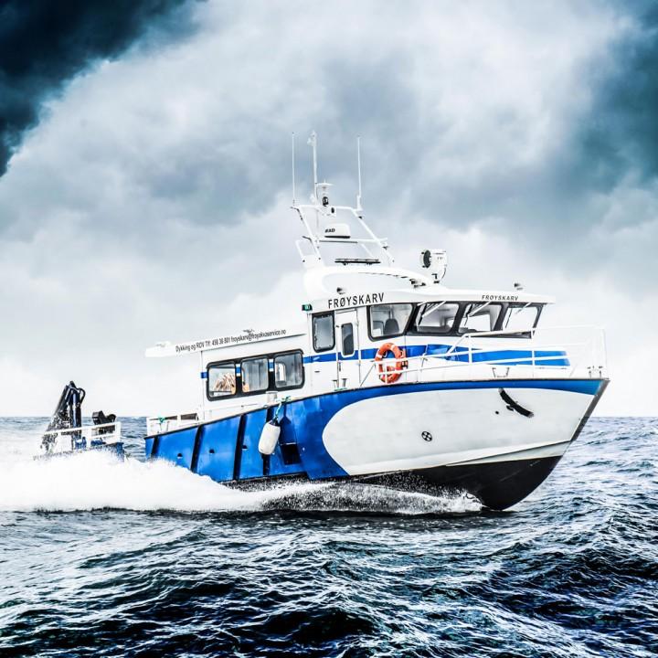 Dykkerbåt Frøy