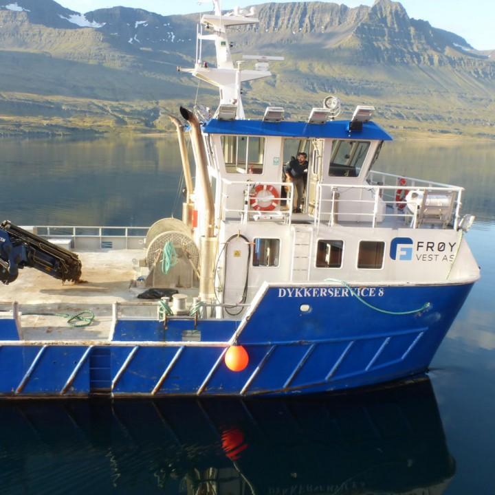 Dykkerservice 8 båt