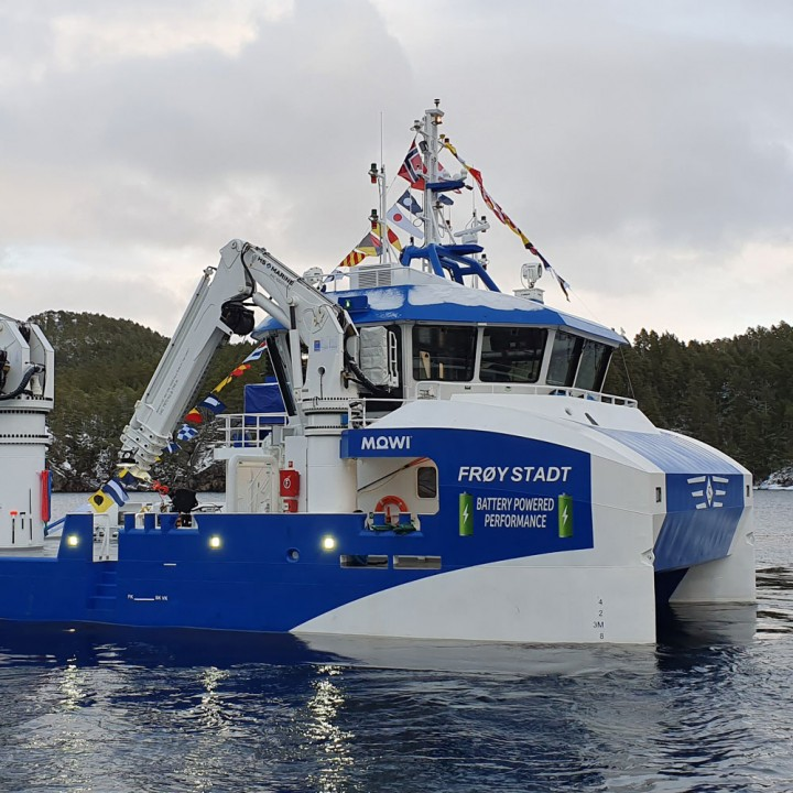 Frøy Stadt båt