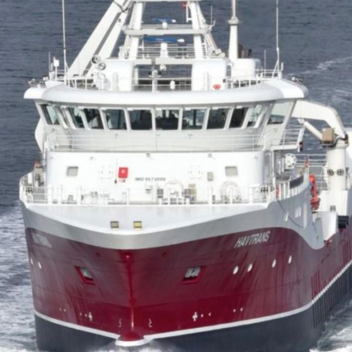 Havtrans brønnbåt