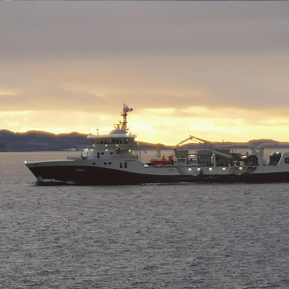 Kristiansund båt Frøy