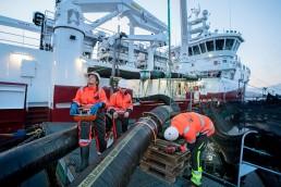 Teamwork til sjøs Frøy