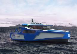Frøys nye hurtiggående båt