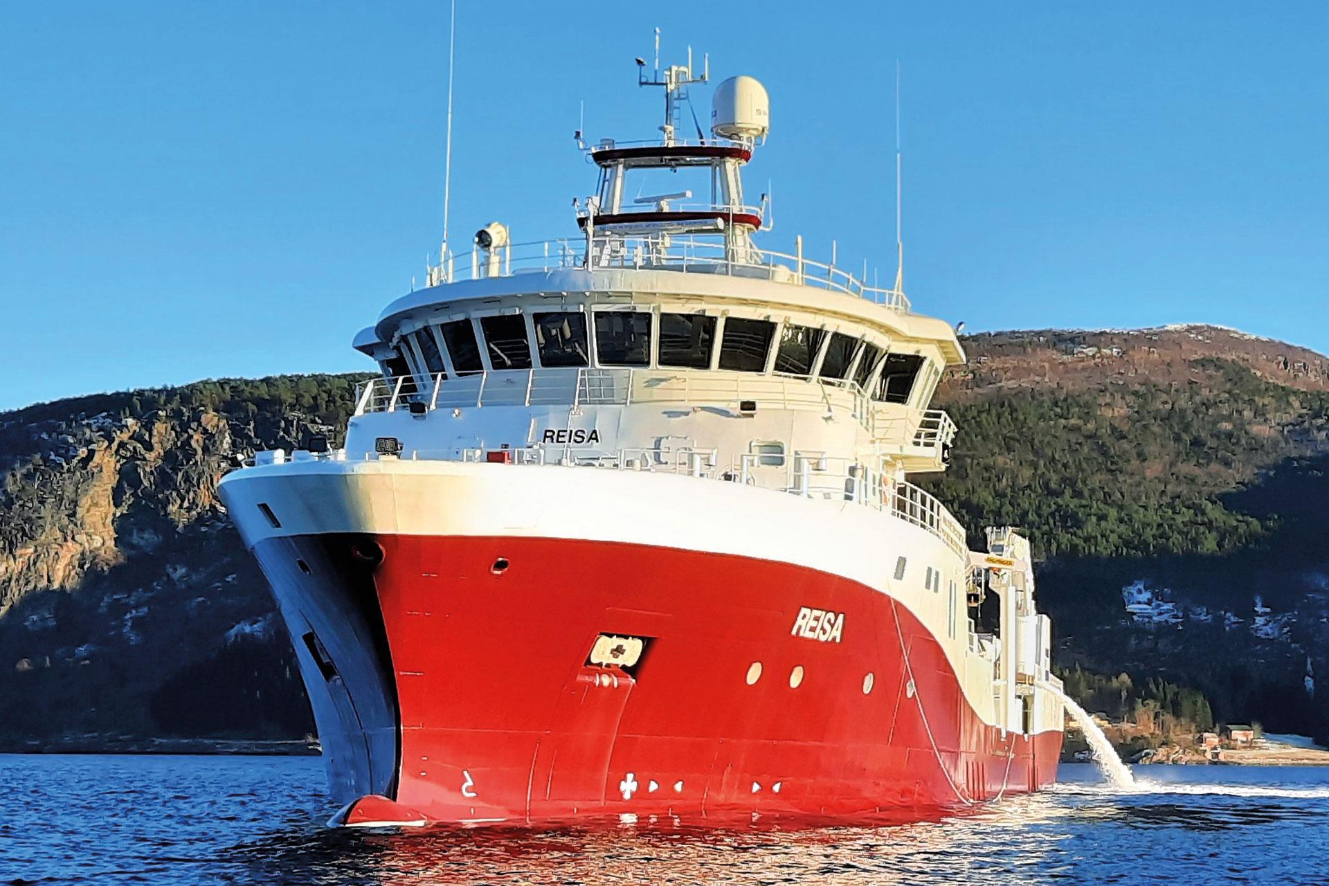 Reisa ny båt levert til Frøy